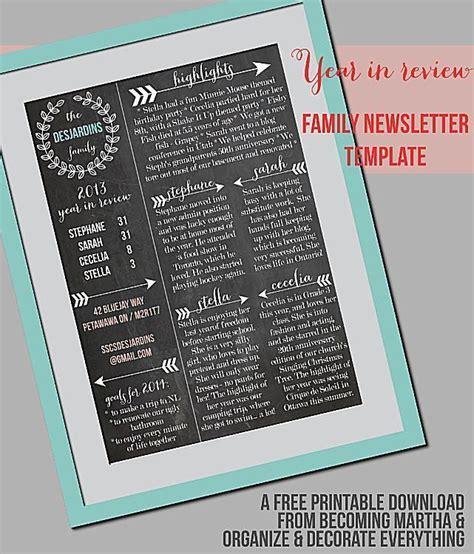 custom christmas letter templates   holidays