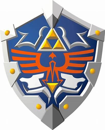 Zelda Legend Shield Hylian Age Victory Deviantart