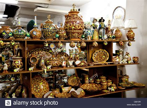 ceramics souvenir shop traditional vases royalty free stock image image 32265626 souvenir shop with hand decorated ceramics caltagirone sicily stock photo royalty free image