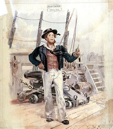 Earl Boatswain by George Clinton Royal Navy Officer