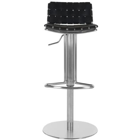 safavieh floyd adjustable height stainless steel bar stool
