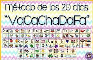 Excelente diseño original del método de los 20 días Vacachadafa Material Educativo