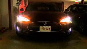 Tesla Model S Exterior Lighting