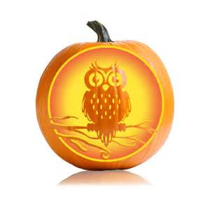 Pumpkin Masters Carving Patterns Owl by Halloween Owl Pumpkin Pattern Ultimate Pumpkin Stencils
