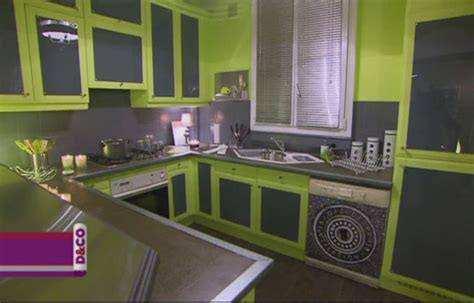 cuisine gris vert cuisine noir gris vert