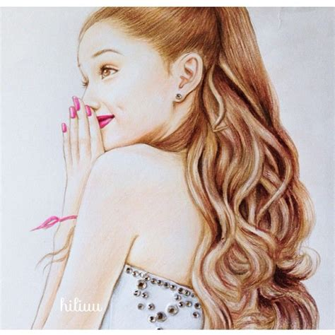 136 best disegni ariana grande images on Pinterest
