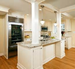 kitchen island with columns alexandria timeless kitchen addition traditional kitchen dc metro by erin hoopes