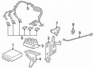 Ford Explorer Sport Trac Spark Plug Wire Set  4 0 Liter  4