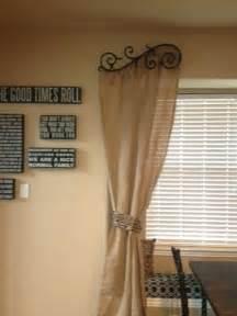 Burlap Window Treatments Curtains