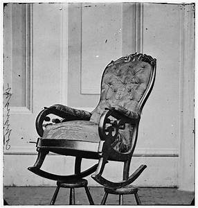 Abraham Lincoln's Rocker at Ford's Theatre