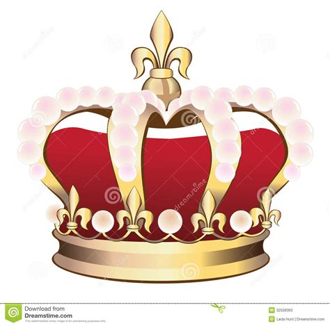 lada da disegno corona reale illustrazione di stock illustrazione di