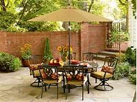 trending patio table decor ideas Golden Yellow Main Color to Complete Your Fall Decorating ...