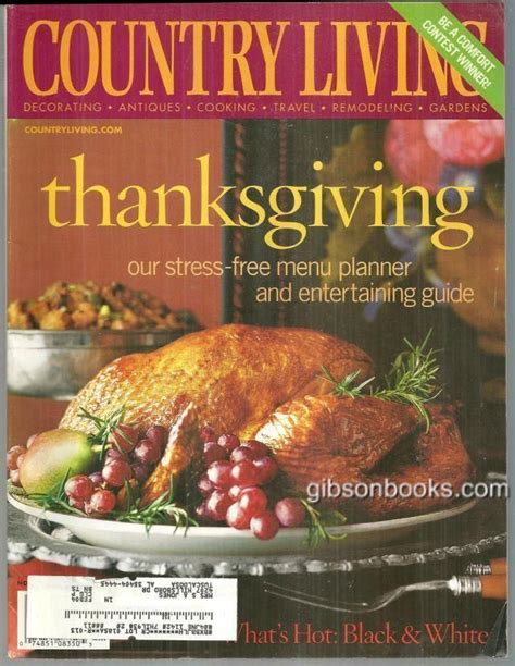 country living magazine recipes 109 best thanksgiving magazines images on pinterest november november born and thanksgiving