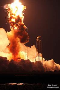 Catastrophic Failure Dooms Antares Launch to Space Station ...