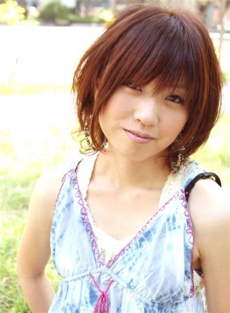 cute short japanese hairstyles  women hairstyles