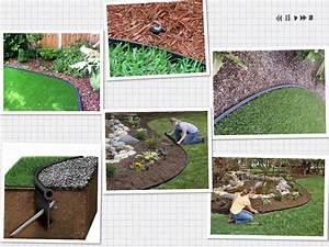 Plastic, Garden, Landscape, Lawn, Edging, For, Grass, Barrier