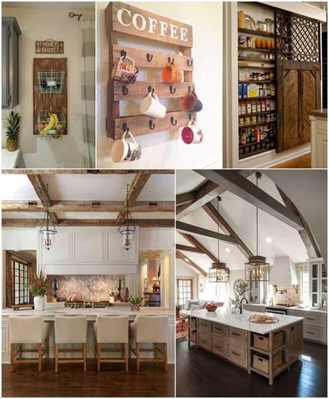 amazing rustic kitchen decor ideas