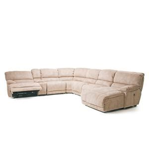 cheers microfiber reclining sofa cheers sofa x8698 pillow arm reclining sectional sofa with