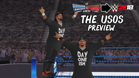 Feel free to ask/inform us in comments down below. WWE 2K18 PSP, Android/PPSSPP - The Usos Tag Team Preview - YouTube