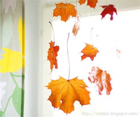 fall leaves decor 30 cool ways to use autumn leaves for fall home d 233 cor digsdigs