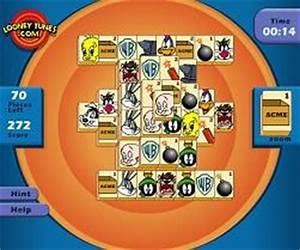 Mahjong Tiles Game Looney Tunes Mahjong