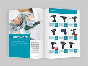 Product catalog indesign template indiestock for Free product catalog template