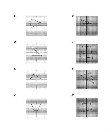 sle coordinate geometry worksheet templates
