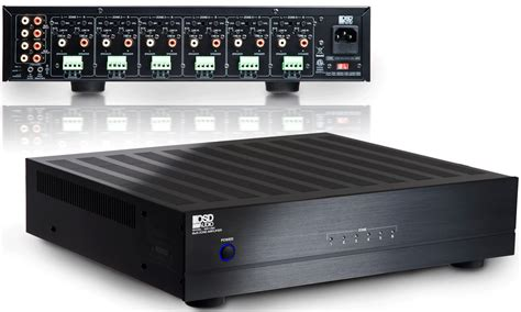Stereo 12 Channel Multi Zone A-bus Amp