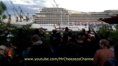 Seven nation army cruise ship