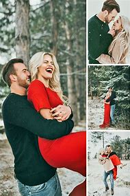 couples christmas photography ideas