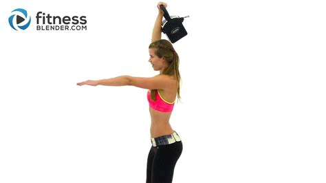 kettlebell cardio workout quick body ultimate fearless fitness burn fat blender entire workouts kelli segars kettle bell