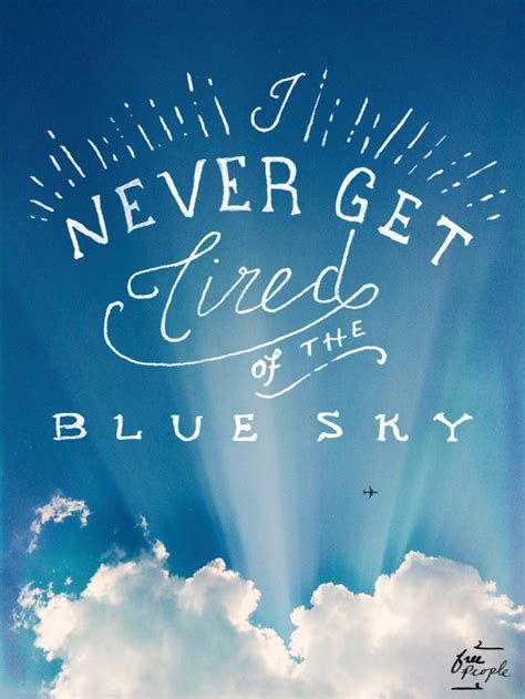 Inspirational Quotes About The Sky Quotesgram