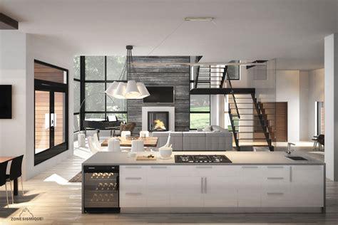 cuisine interieur design cuisine zone sismique jocelyn maison neuve interieur d