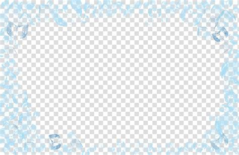 library  ice border png transparent  png files