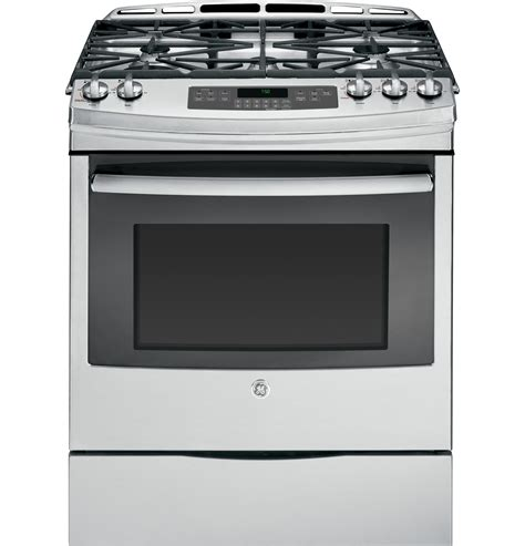 in the range from jgss05dembb ge 30 slide in gas range ge appliances ask home design
