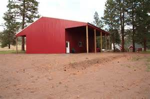 Building Pole Barn with Living Quarters