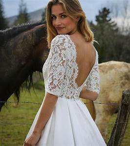 Robe De Mariée Dos Nu Plongeant : photo robe de mari e courte dos nu ~ Melissatoandfro.com Idées de Décoration