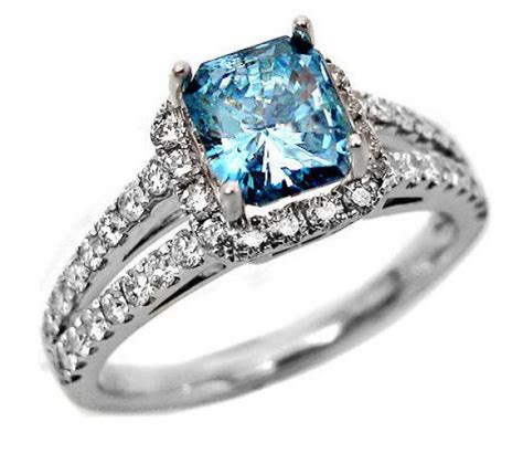 couples ring sets blue diamond engagement rings will be attractive for
