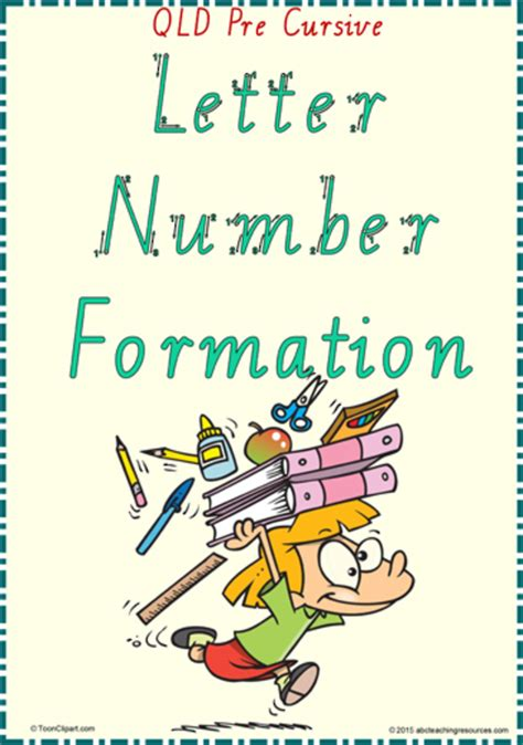 year  handwriting letter number formation qld pre