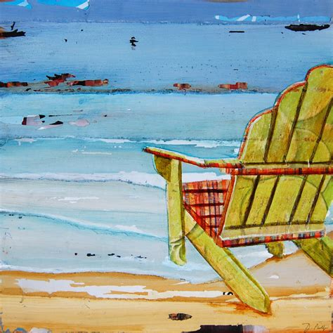 print or canvas adirondack chair coastal