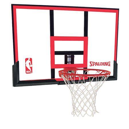 spalding  polycarbonite basketball backboard  rim