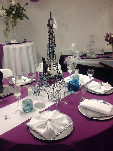 paris themed wedding table setting wedding ideas dayton