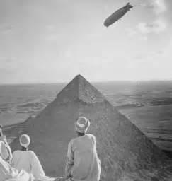 Zeppelin Over Pyramids