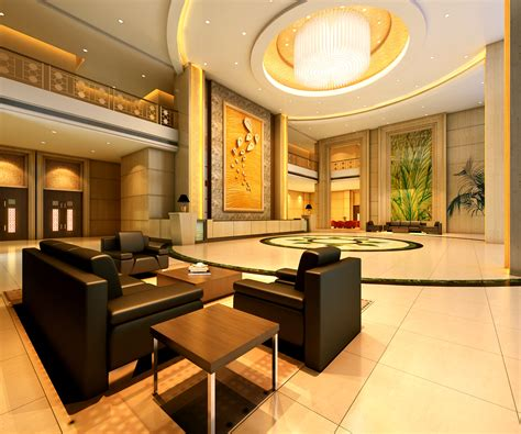 High End Wall Decor by Foyer With High End Wall Decor 3d Model Max Cgtrader