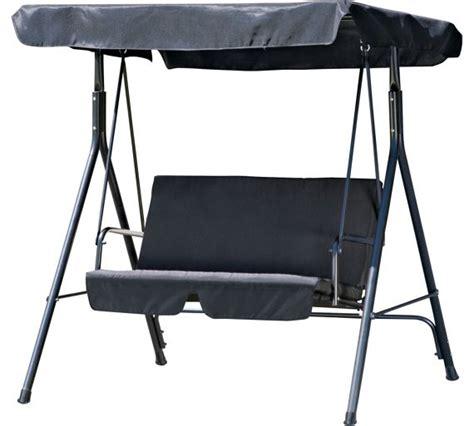 Hammock Argos by Buy 2 Seater Garden Swing Chair Black At Argos Co Uk
