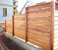 horizontal wood fence 209 best images about Horizontal Fence on Pinterest | Modern fence design, Fence design and ...