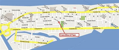 town  varadero cuba map