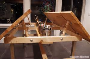 multi kid drafting table ikea hack furniture pinterest