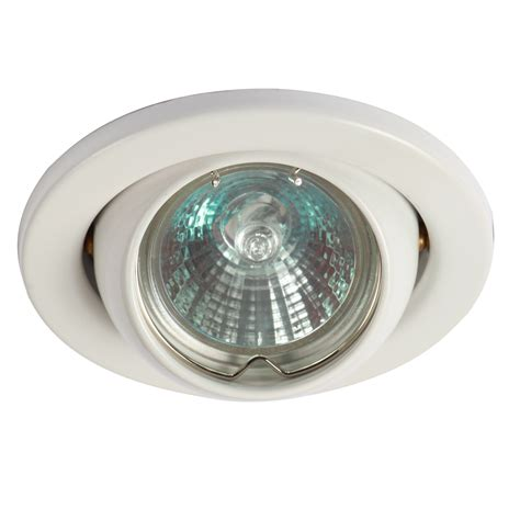 knightsbridge eyeball downlight low voltage light fitting