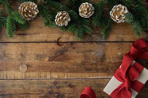 Weihnachtliche Tischdeko Holz by Wood Background Vi Photos Creative